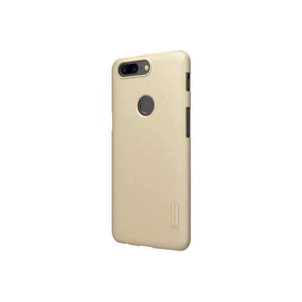 Бампер Nillkin Frosted Shield для OnePlus 5T (золотой/gold)