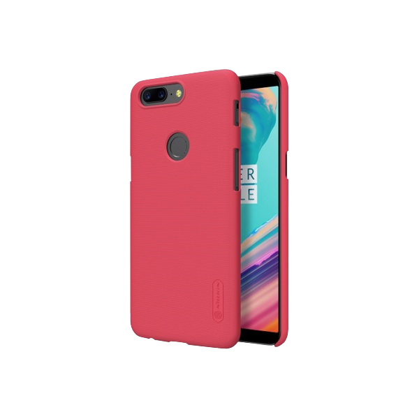 Бампер Nillkin Frosted Shield для OnePlus 5T (красный/red)