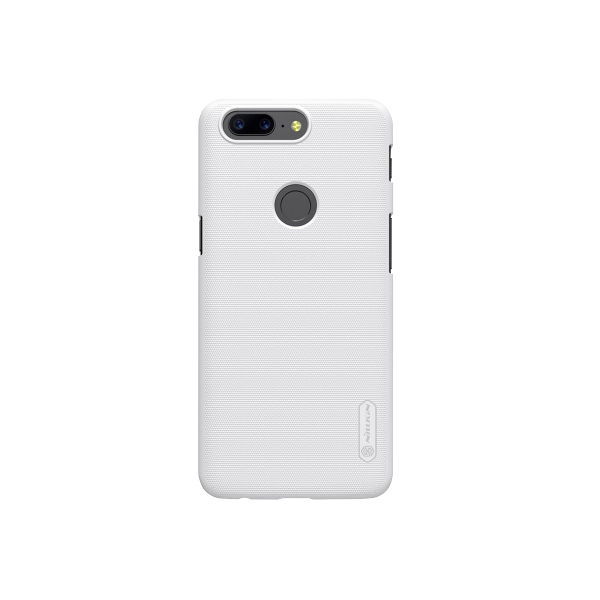 Бампер Nillkin Frosted Shield для OnePlus 5T (белый/white)